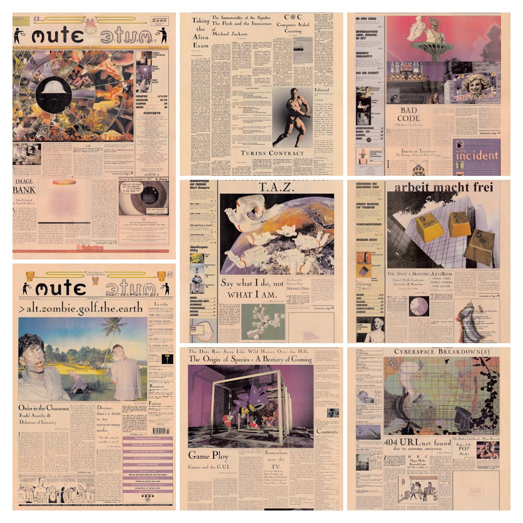 Mute (Financial Times printed) covers