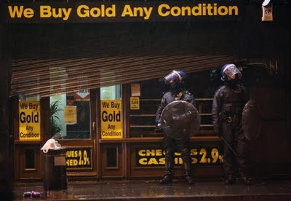 An open letter to those who condemn looting in two parts mute image riot police in brixton altavistaventures