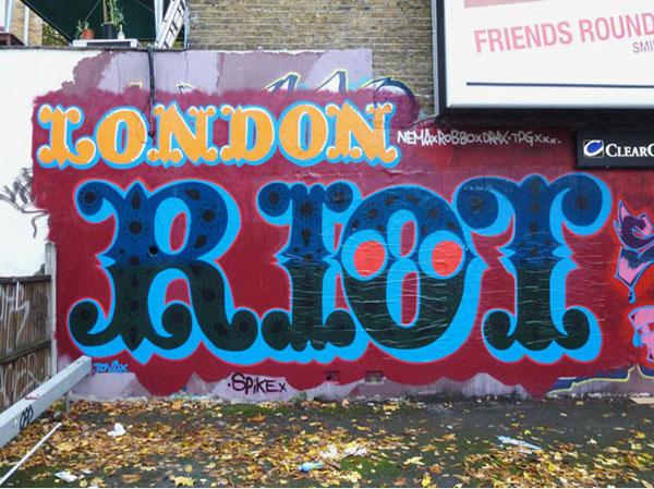 Dissertation london riots