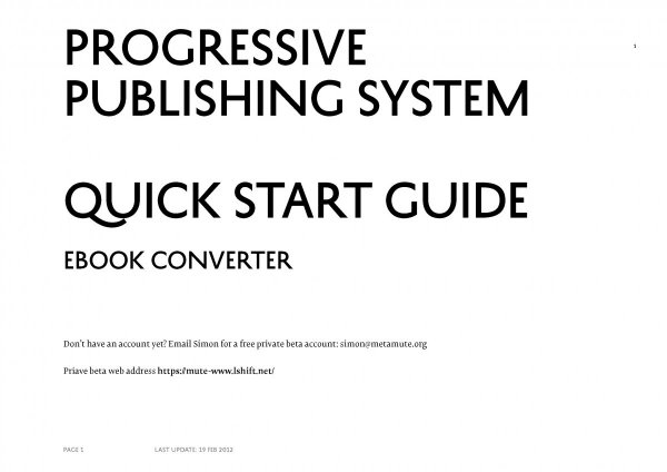 Quick Start Cover Image