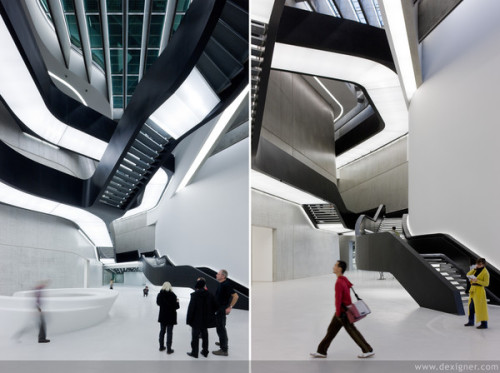 Zaha Hadid, MAXXI National Museum of 21st Century Arts, Rome 2010