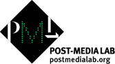 Post-Media Lab logo