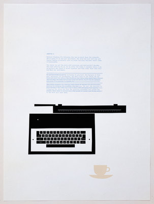 Matthew Brannon, Words on a Page, 2008